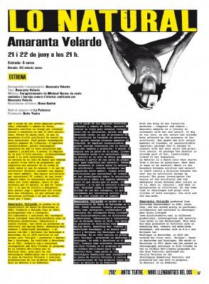 37. Amaranta Velarde