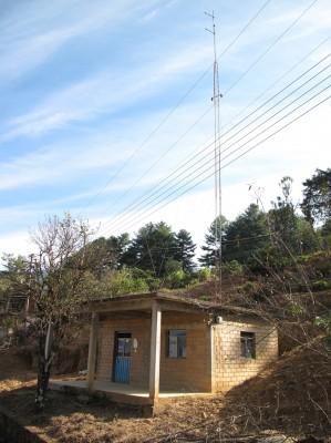 Local de la Ràdio Comunitaria Chi'i Bunach Khierhu - Voz de Nuestra Gente